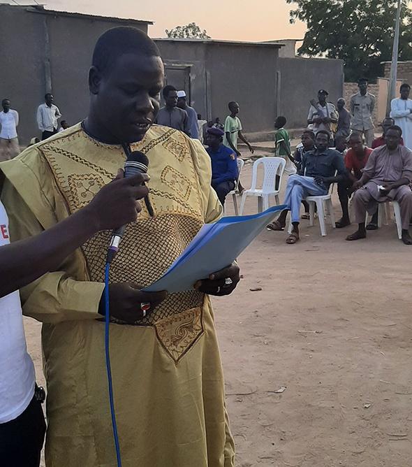 Tchad : l'AJPDET mène une campagne de sensibilisation sur la paix et la cohabitation pacifique