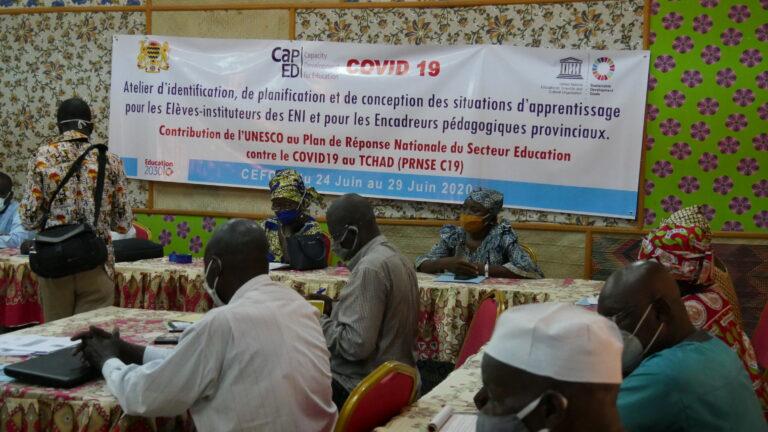 Tchad : l'Unesco organise trois formations à l'attention des enseignants