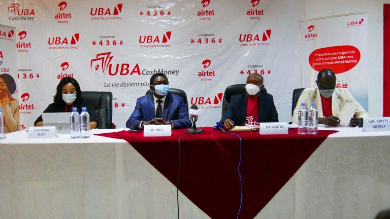 Tchad:  Airtel et  la banque UBA lancent un nouveau produit, UBA cashmoney