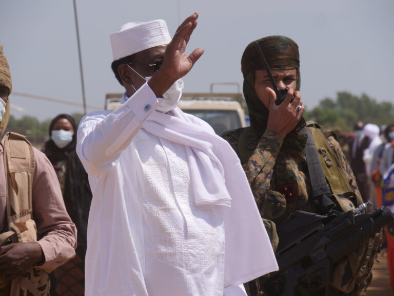 تشاد: رئيس الجمهورية يصل إلى حاضرة إقليم حجر لميس