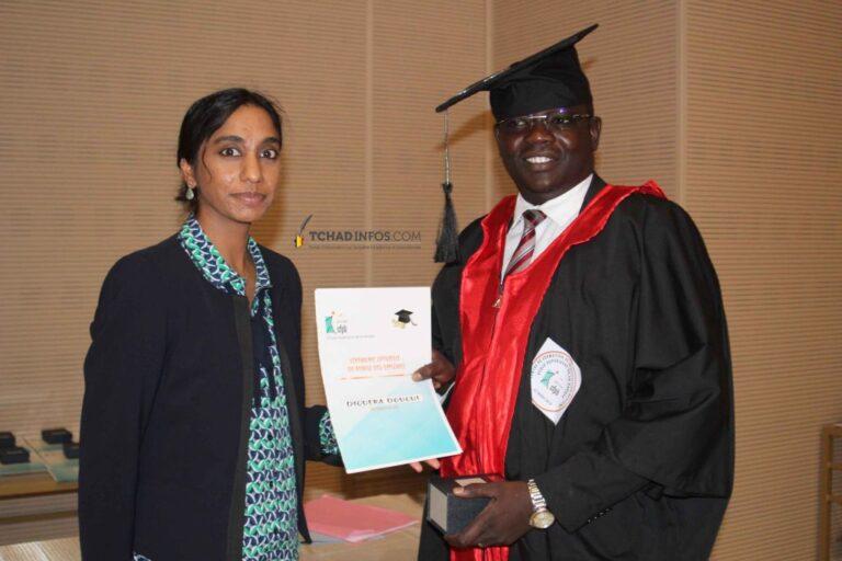 Tchad : 115 lauréats de l'Institut technique de banque obtiennent leurs diplômes