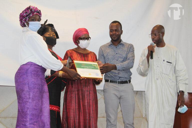 Tchad : la représentante sortante de l'UNFPA, Adekambi Domingo, honorée par plusieurs plateformes