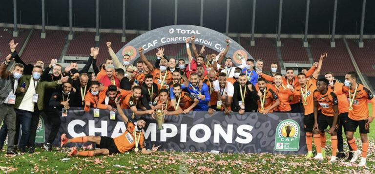 Coupe de la CAF : la Renaissance sportive de Berkane du Maroc remporte le titre