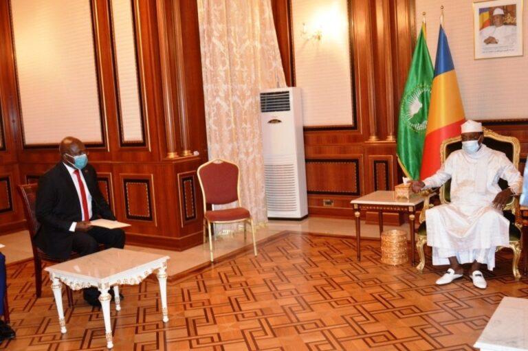 Tchad-Angola : le ministre angolais des Relations extérieures reçu en audience au palais présidentiel