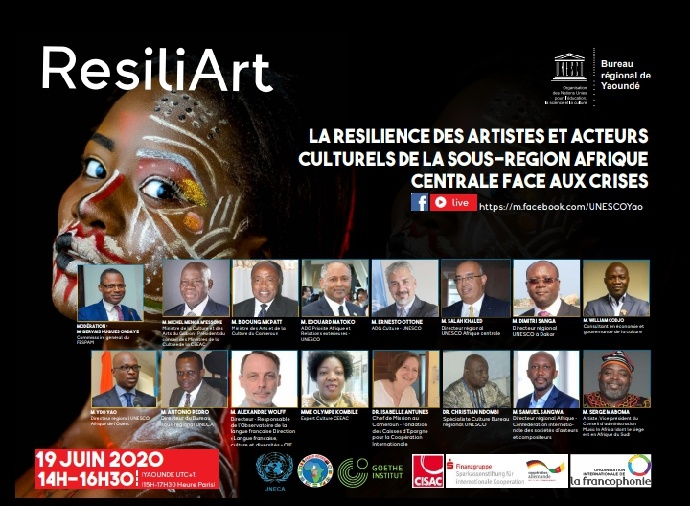 Afrique centrale: rencontre de haut niveau pour des solutions aux artistes et acteurs culturels