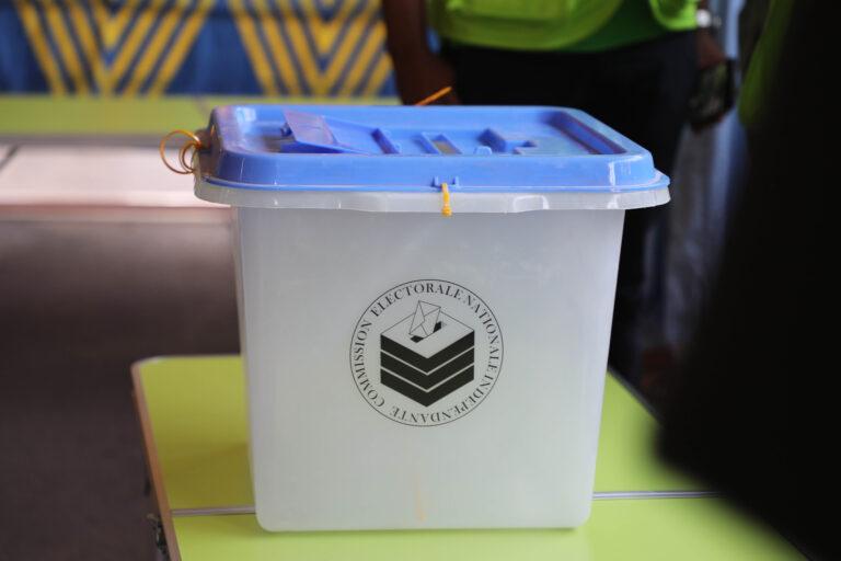 Présidentielle 2021 : La CENI se félicite du bon déroulement de l'élection