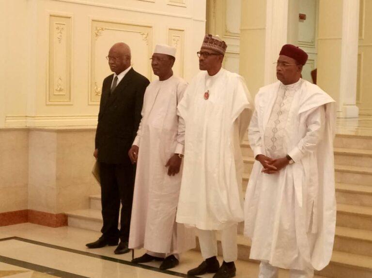 Terrorisme au Lac Tchad : communiqué final du sommet extraordinaire des Chefs d'Etat