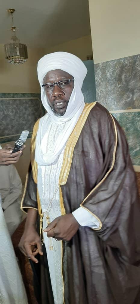 Spécial Ouaddaï : le nouveau sultan de Dar Ouaddaï  a officiellement  pris service