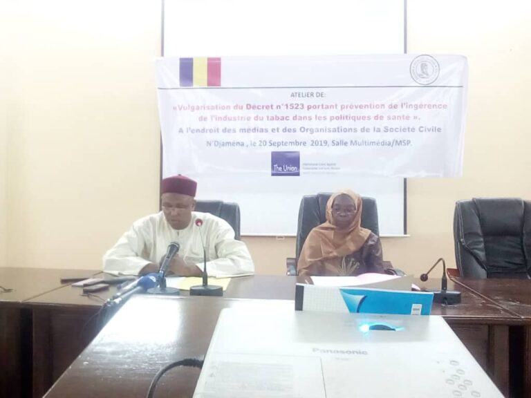 Tchad : la prévention de l'ingérence de l'industrie du tabac préoccupe le ministère de la Santé publique