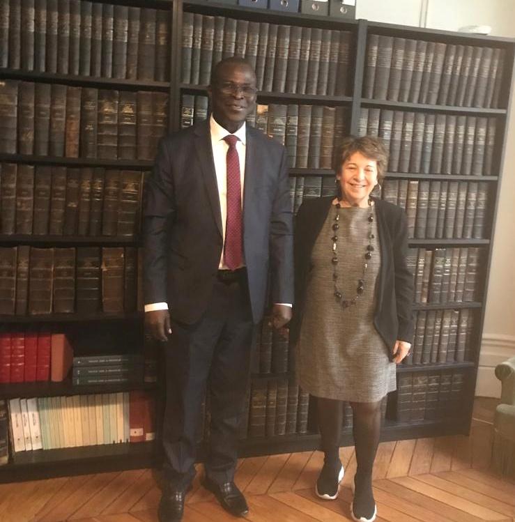 Boukar Michel désigné ambassadeur de la Convention des droits de l'humanité au Tchad
