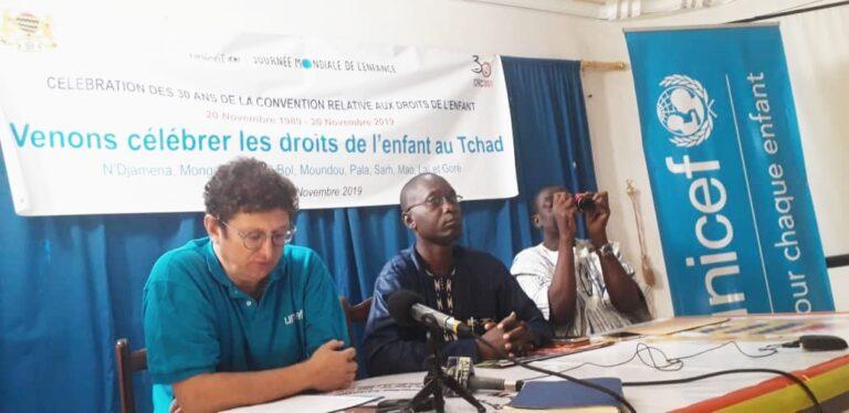 Journée mondiale de l'enfant : le Tchad célébrera le 30e anniversaire de la CDE