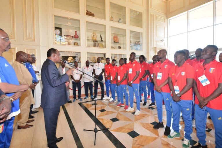"""Can 2021:  """"Vous n'avez pas droit à l'erreur"""", prévient Idriss Déby aux Sao"""
