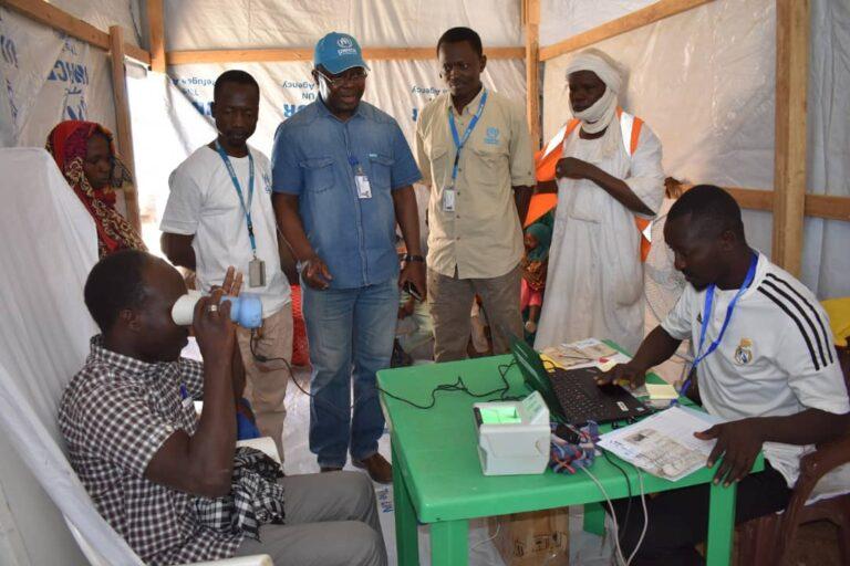 Tchad : l'opération de  recensement biométrique des réfugiés et demandeurs d'asile se poursuit