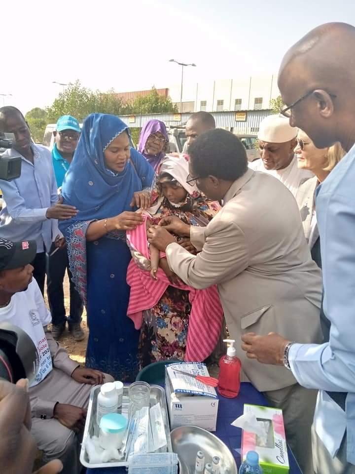 Tchad : début d'une campagne de vaccination contre la rougeole à N'Djamena