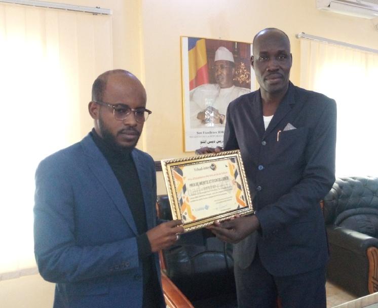 Tchad inter'Art honore le ministère de la Culture