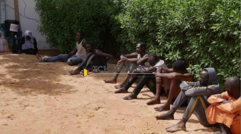 Tchad : 7 présumés braqueurs présentés par la Police nationale
