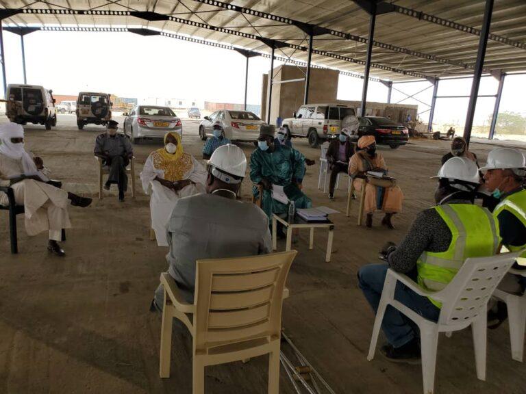 Elevage : le ministre Gayang Souaré s'assure de l'évolution de l'abattoir de Djermaya