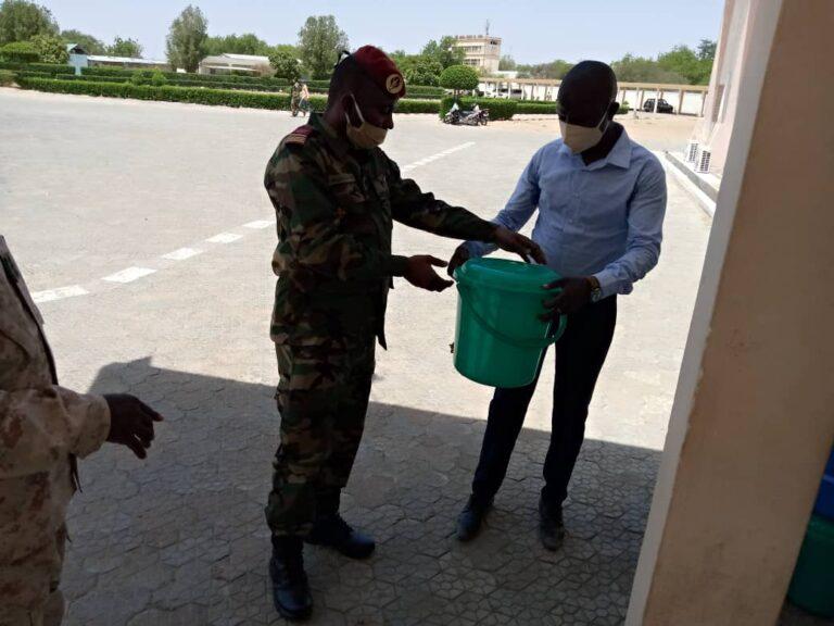 Coronavirus : l'Ajassa fait un don de kits à la province du Batha