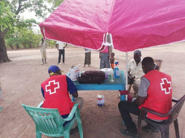 Coronavirus : la Croix Rouge  ravitaille les sites des réfugiés en matériels de protection