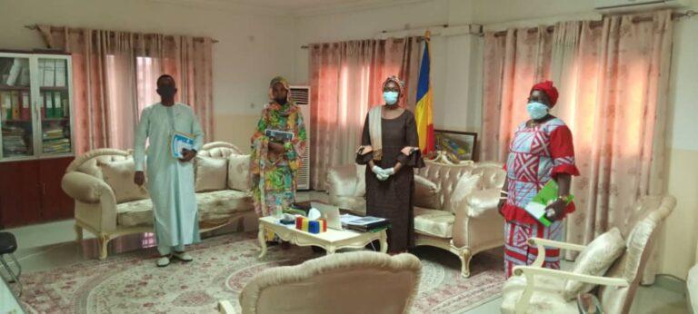 """Tchad: la ministre du Commerce reçoit une délégation du collectif entrepreneurial """"Ecosystème"""""""