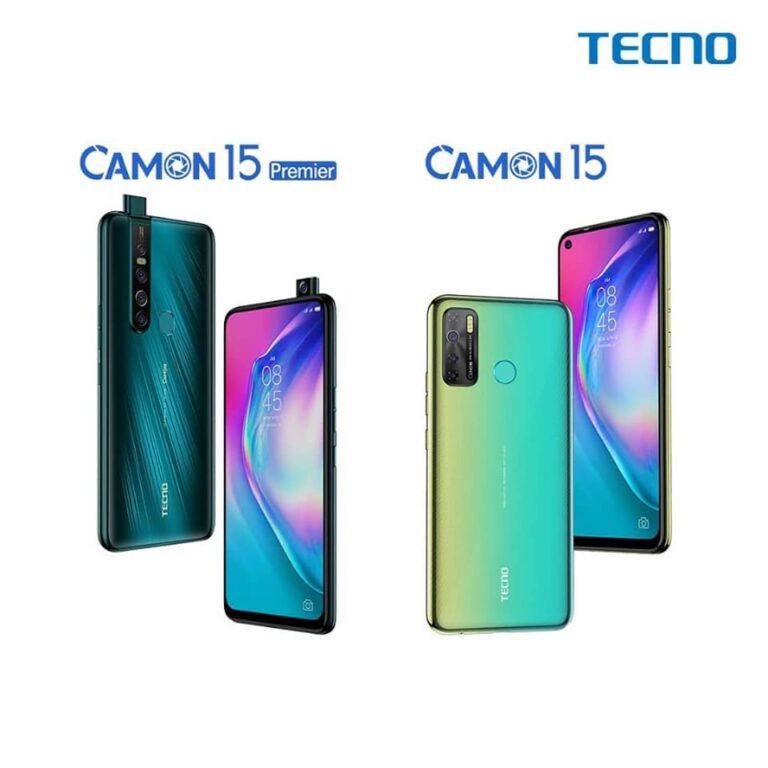 Tchad : la série TECNO CAMON 15 déjà disponible