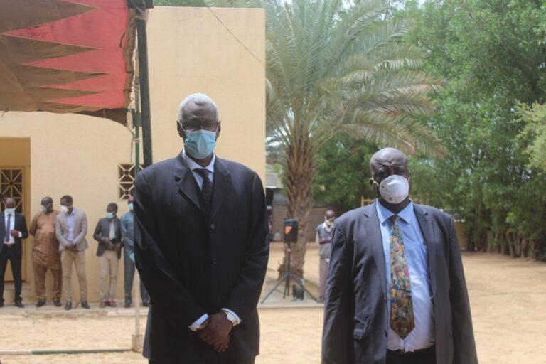Tchad : le 1er recteur de l'académie de l'Ouest et son SG prennent fonction