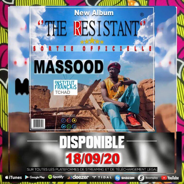 """Tchad : lancement du 1er album """"The Resistant"""" du Maréchal Massood Dgam"""