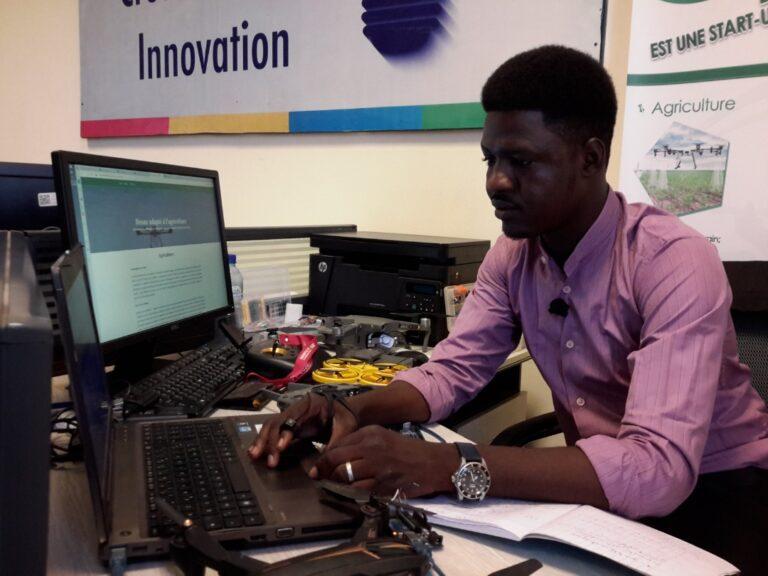 Entrepreneuriat : Mahamat Issa Abakar, promoteur de Drone-Tech Africa gagne 3 prix au concours organisé par 2IE