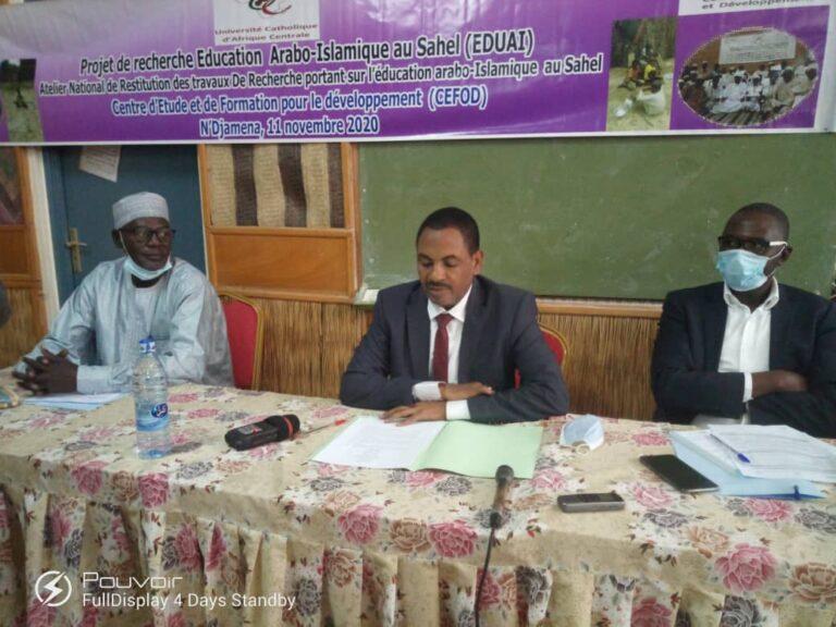 Tchad : l'éducation arabo-islamique au cœur d'un échange