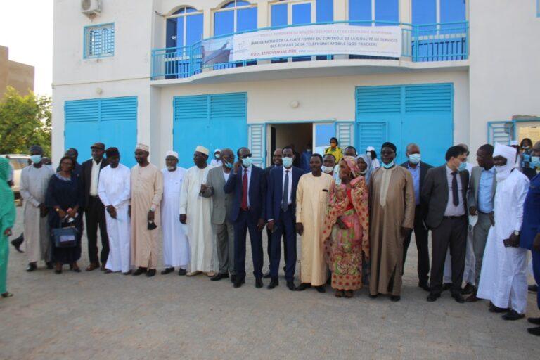 NTIC/ Tchad : L'ARCEP inaugure le centre de contrôle de qualité des services de téléphonie mobile