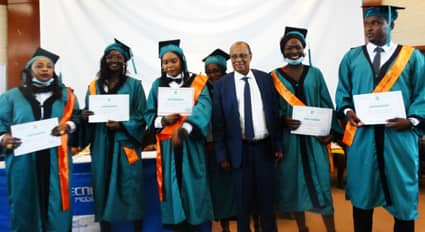 Tchad : 175 lauréats de l'Université Africaine de Management et de l'Innovation reçoivent leur parchemin