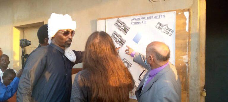 Tchad: une délégation ministérielle visite le site réservé à la construction de l'Académie des arts