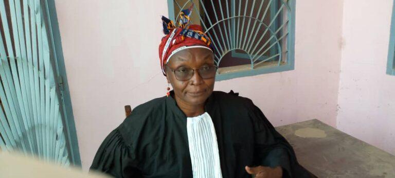 """Tchad: """"la violence faite aux femmes est un grand problème dans notre société"""", Me Koulmem Nadjiro"""