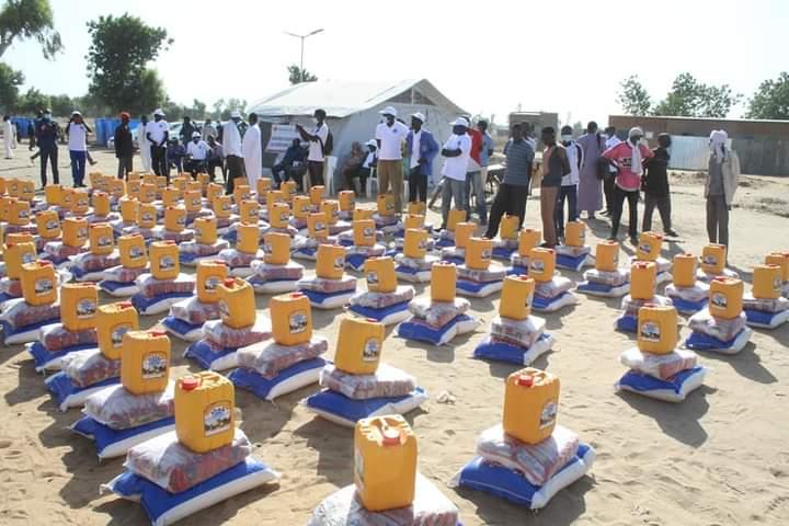 Tchad : la STE assiste  les  sinistrés du 9e arrondissement de N'Djamena