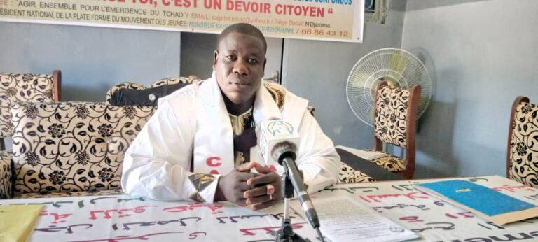Tchad : « Ce n'est que dans la paix et la concorde nationale que la population peut bénéficier de la construction ou de la réhabilitation des infrastructures sociales de base », Mahamat El-Mahdi Abderamane