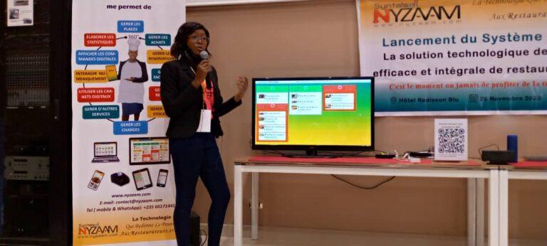 Tchad : une petite entreprise lance un produit made in Chad pour la gestion numérique des restaurants et hôtels