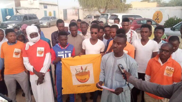 Abéché : une soixantaine de  militants  de l'UNDR se sont ralliés au MPS