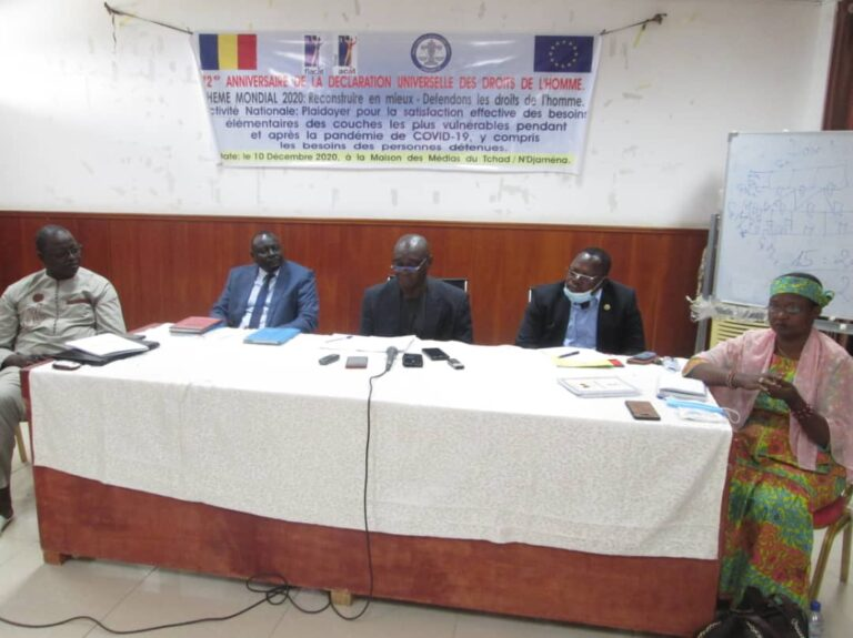 ACAT/Tchad et FIACAT célèbrent le 71ème Anniversaire de la Déclaration universelle des droits de l'Homme