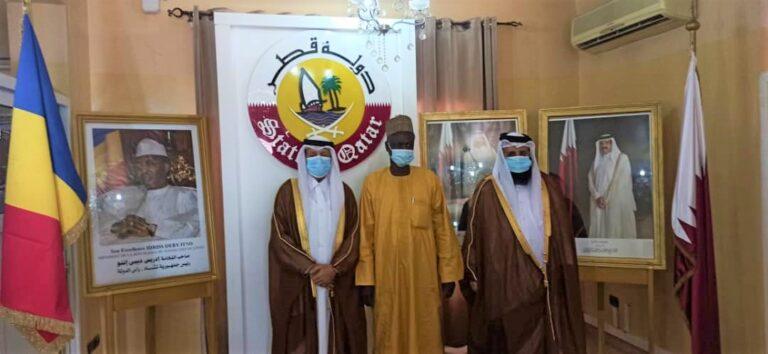 """Diplomatie : l'ambassade du Qatar salue les """"bonnes relations"""" entre N'Djamena et Doha"""