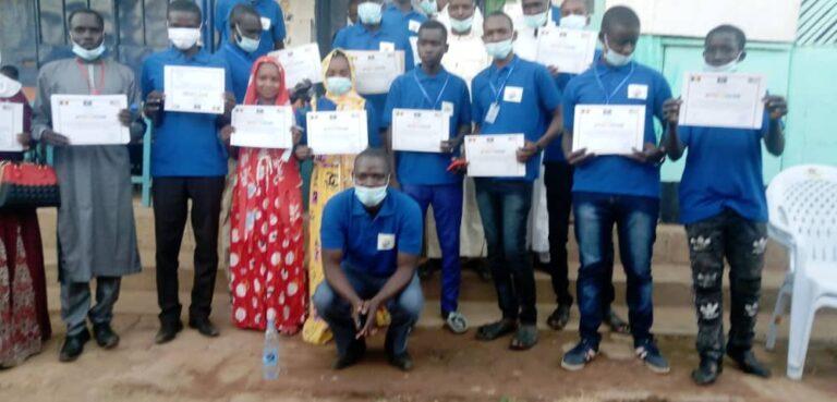 Mongo : remise des attestations aux lauréats de la 4e promotion du Centre Advance Training