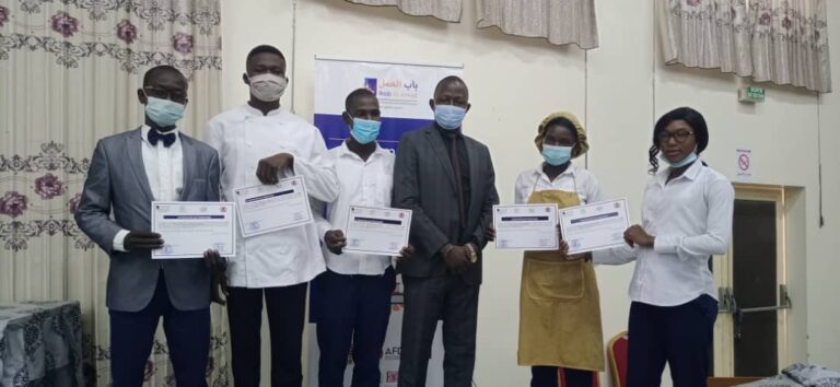 Tchad: 522 jeunes désœuvrés formés par le projet Bab Alamal