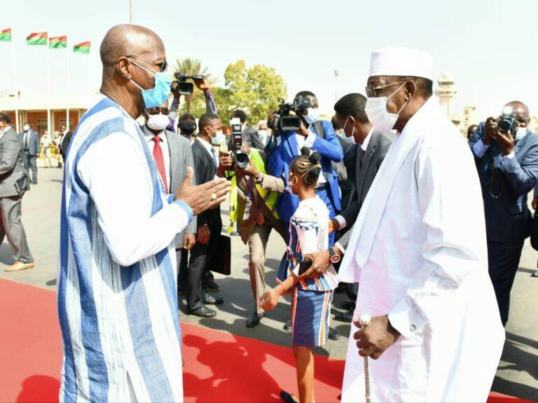 تنصيب روش كابوري: رئيس الجمهورية يصل إلى بوركينا فاسو