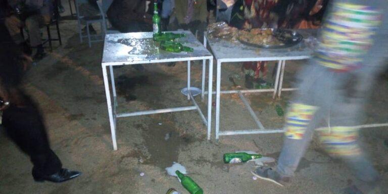 رأس السنة الميلادية في مونقو: إقتحام لوجبة العشاء قبل تقديمها للحاكم