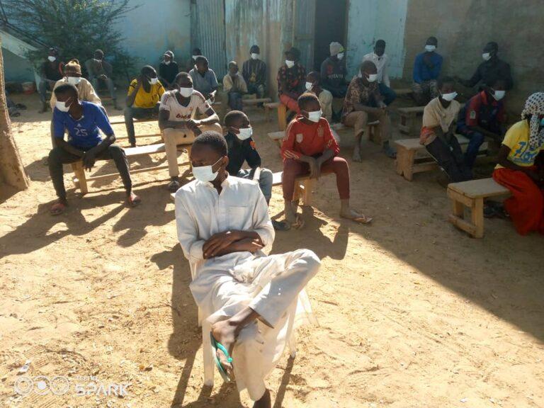 """Distribution des kits alimentaires: l'association ASIERT aux côtés des """"enfants vivant dans la rue"""""""