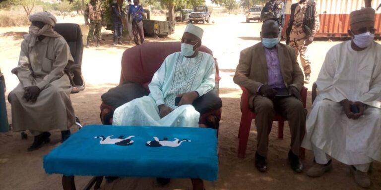 Guéra: De présumés trafiquants de bois vert et d'un mineur appréhendés à Mongo
