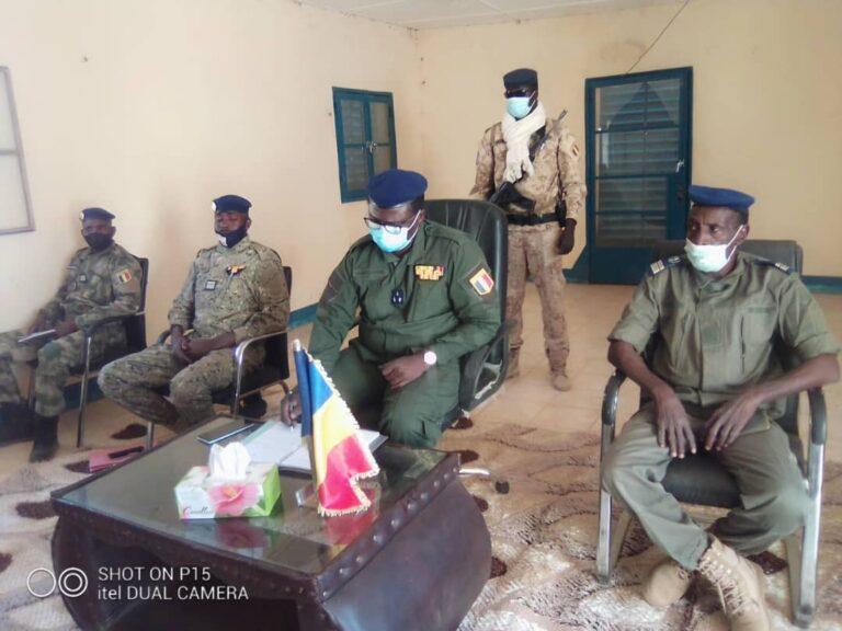 Tchad : Le directeur général de la gendarmerie en mission d'inspection dans le Sila