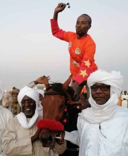 La course hippique ''Grand prix Geyser/Abou-Simbil'' organisée à Abéché
