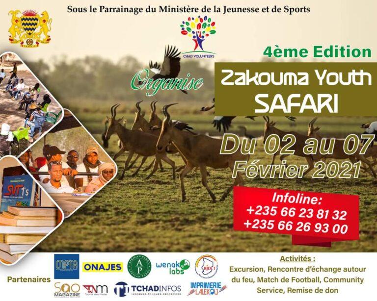 La 4e édition de Zakouma Youth Safari est prévue du 2 au 7 février