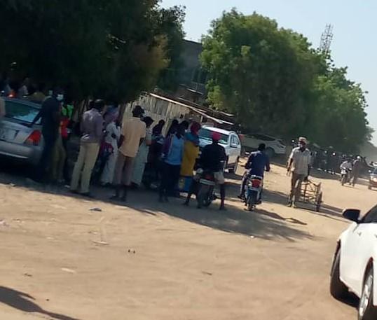 تم عرض المتظاهرين للمسائلة بمحكمة النيابة في أنجمينا