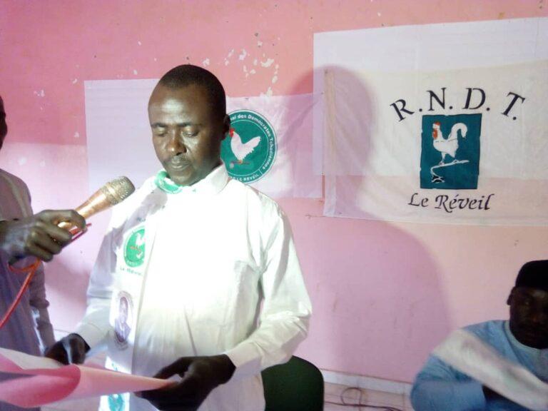 Présidentielle: le RNDT/le Réveil du Batha propose au bureau national de soutenir la candidature du président Déby
